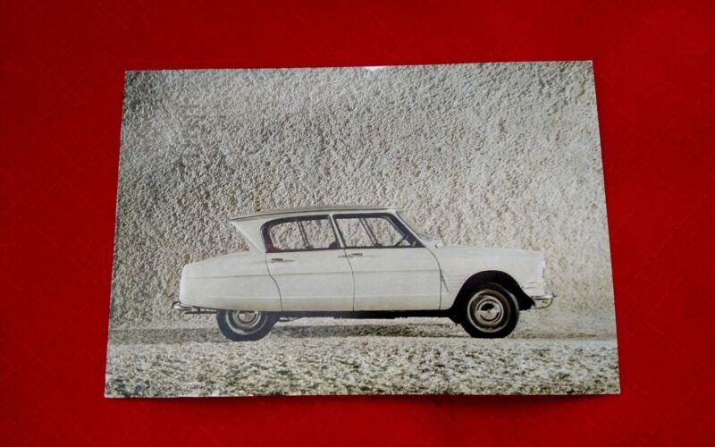 Original Citroen AMI 6 Post Card Printed in France Parts Dept. Beverly Hills