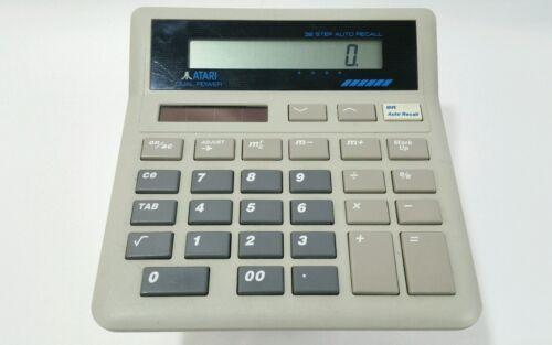 Vintage ATARI CC1010  Calculator  32 Step Auto Memory Recall A024 AS IS