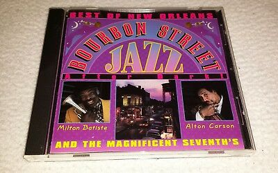 Best Of New Orleans Bourbon Street Jazz After Dark Cd - Milton Batiste,