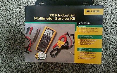 Fluke 289imsk Industrial Multimeter Service Kit W I400 Amp Clamp.  Brand New