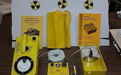 Prepper Cdv 717 Radiation Detection Kit Geiger Survey Meter