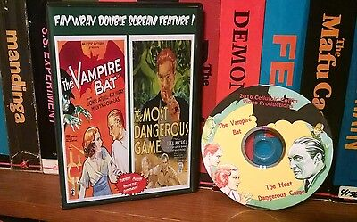 The Vampire Bat / The Most Dangerous Game Fay Wray double feature. Classic!!](Most Classic Halloween Movies)