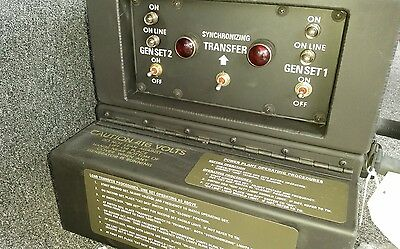 New Military Diesel Generator Control Panel Switch Box 10 5kw Mep