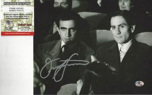 Godfather Frank Sivero autographed 8x10 photo Robert DeNiro