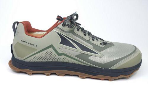 Altra Footwear Lone Peak 5 Men's Size 13 Khaki Trail Runni
