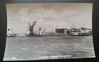 Hampshire Postcard The Camber Showing Portsmouth Cathedral