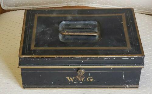 Antique Cash Box Circa 1910-40