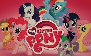 MY LITTLE PONY A4 PICTURE PRINT A4 CHILDREN KIDS WALL ART