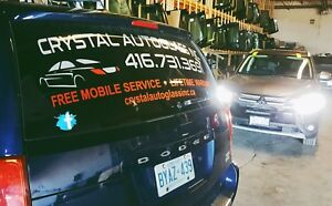 CRACKED OR CHIPPED WINDSHIELD? CRYSTAL AUTOGLASS 4167313691