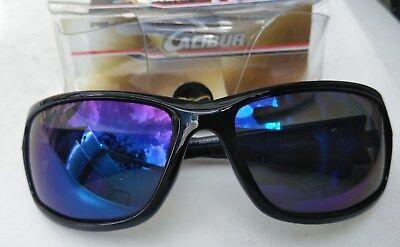 d0424d033481a Xcalibur Jason Christie fishing Sunglasses Polarized black frame blue lens
