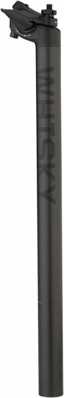 WHISKY No.7 Carbon Seatpost - 27.2 x 400mm, 18mm Offset, Matte Carbon