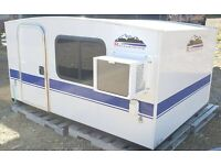 Runaway Range Runner Camper Box without wheels or tongue.