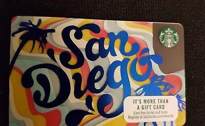 SCARCE Hard To Find!!!    Starbucks 2017 SAN DIEGO  card