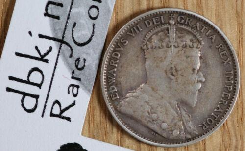 1904 H Newfoundland - 20 Cents - Edward VII - 1 Year Type - KM 10 - Fine