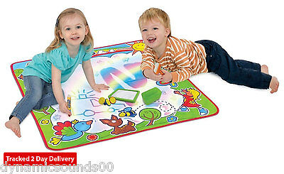 TOMY 72182 Rainbow Aquadoodle Children Kids Aquadraw Drawing Mat Water Drawing