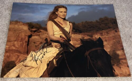 EVAN RACHEL WOOD SIGNED AUTOGRAPH WESTWORLD 11x14 PHOTO C w/EXACT PROOF