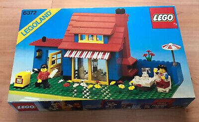 Lego vintage 6272 town house complet avec couvercle boîte extérieure