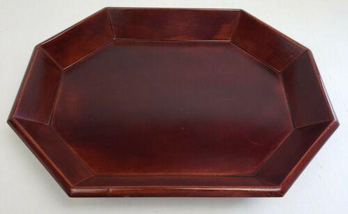 Vintage Korean Wood Serving Tray 14