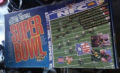 Vintage NFL Tudor Electric Football Super Bowl XXXI Game