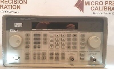 Agilenthp 8468c Signal Generator 3200 Mhz W Nist Traceable Cert
