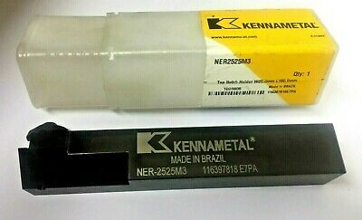 Kennametal Top Notch Holder Ner2525m3 W25.0mm L150.0mm Free Shipping