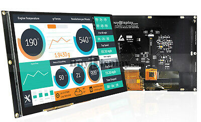 9 Inch Capacitive Touch Tft Lcd Display Module Wssd1963tutorialpin Header