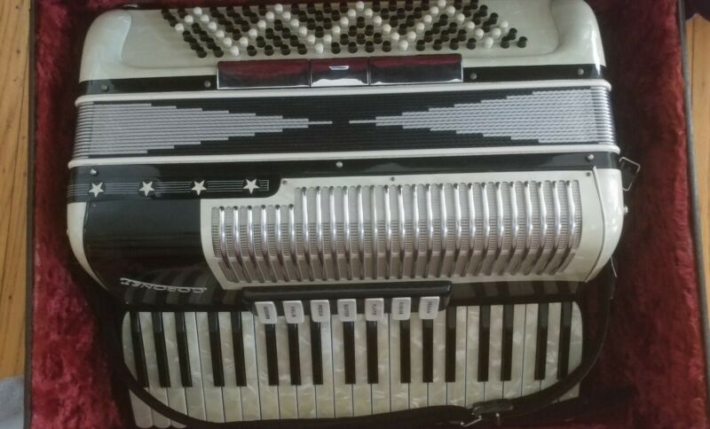 Coronet Accordion With Case Italy