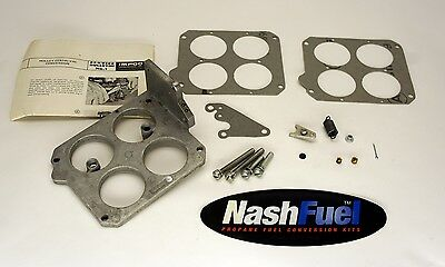 IMPCO AP2-24 HOLLEY CENTRI-VAC CONVERSION GOVERNOR THROTTLE BODY ADAPTER KIT 425