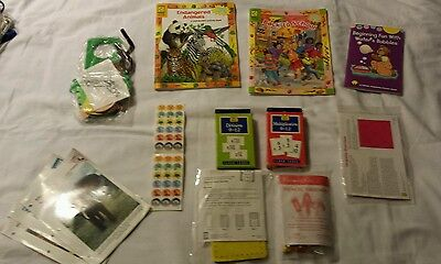Learning Set Of 11 Multiplication, Division Cards, Activities,  Books, Stickers