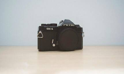 RARE Petri GX-1 SLR 35mm film camera