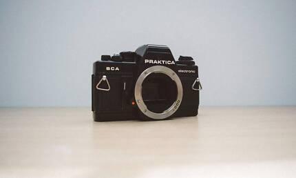 Praktica BCA 35mm Film camera body in working condition