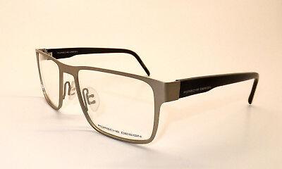 Porsche Design P 8292 D Men Eyewear Optical Frame DEMO Lenses Pale Gold Italy W7