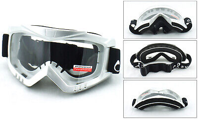Safety Goggles Shatterproof Glasses Protective Eyewear Clear Lens Uv 100