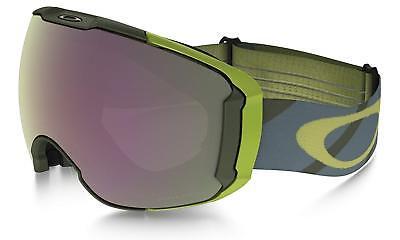90a20624967 Oakley Airbrake XL Asian Fit Hazard Bar Army Prizm HI Pink SNOW GOGGLE  OO7078-09