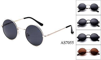 John Lennon Style Sunglasses Round Retro vintage style 60s 70s hippie (John Style)