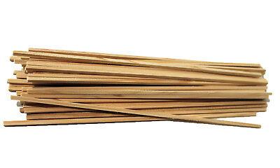 100 Stück Zuckerwattestäbchen Vierkantstäbchen Holzstäbe Zuckerwatte NEU OVP