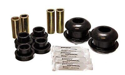 Energy Suspension Control Arm Bushing Set Black Front for Dodge # 5.3116G