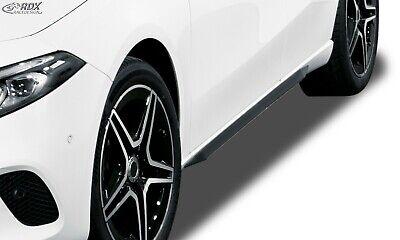 RDX Seitenschweller Slim schwarz glänzend für MERCEDES A-Klasse W177 / V177