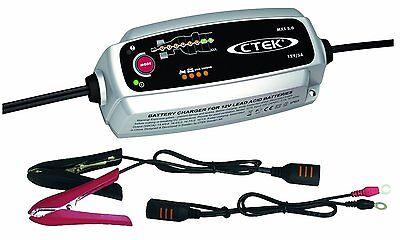 CTEK MXS 5.0 Autobatterie-Ladegerät mit automatischem Temperaturausgleich 12V