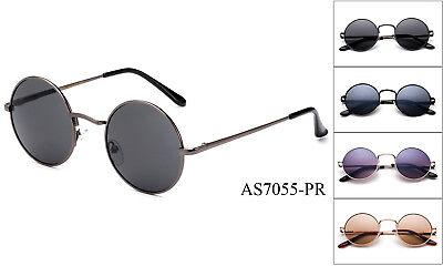 Polarisierend John Lennon Klassisch Sonnenbrille Rund Retro Hippie Vintage