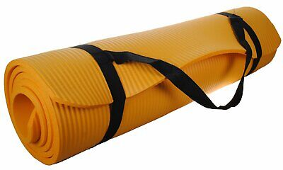 """Shop4Omni Yoga mat 72"""" X 24"""" - Extra Thick Exercise Mat - wi"""