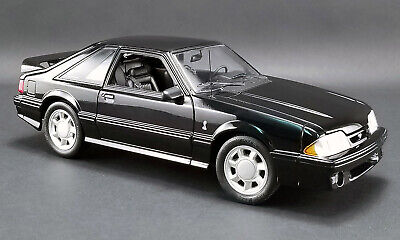 BLACK 1993 FORD MUSTANG COBRA GMP 1:18 SCALE DIECAST MODEL - PRE ORDER for sale  Forest City