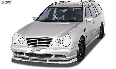 RDX Spoilerlippe für MERCEDES E-Klasse W210 AMG Frontspoiler Spoilerschwert