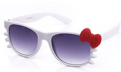 Hello Kitty Bow Sunglasses and Whiskers Multi Color Combos!!!! Cute Clear Lens (Hello Kitty Whiskers)