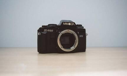 Minolta X-700, 35mm Film Camera