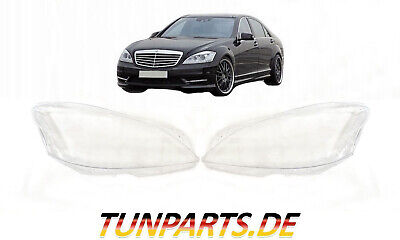 Scheinwerfer Glas für Mercedes S klasse W221 Facelift Streuscheiben NEU