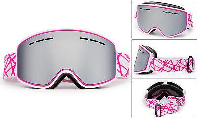 Frameless Snowboard Ski Goggles futuristic Anti Fog Double-Lens with (Futuristic Goggles)