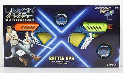 Silverlit Laser-Spiel Lazer MAD Battle Ops 86845 Lasertag Set Spielzeug-Pistolen