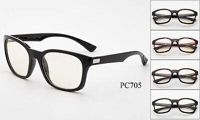 Computer Screen Protection Glasses Video Gaming Anti Glare Light Lenses UV400 ()