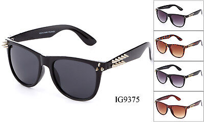 Bulk 12 Pairs New Spiky Designer Women Fashion Plastic  Sunglasses Wholesale (Bulk Plastic Sunglasses)